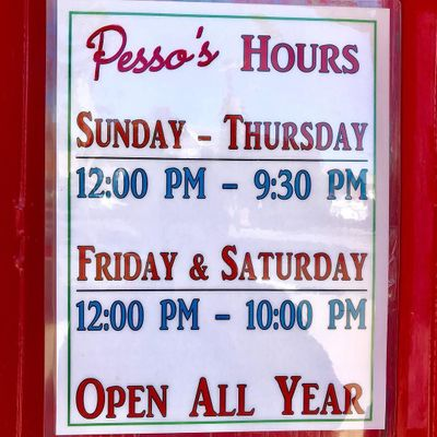 October 27, 2017 at 02:06PM - New Hours: We're now open later on Weekends!Sunday - Thursday: 12 PM to 9:30 PMFriday & Saturday: 12 PM to 10 PM.jpg