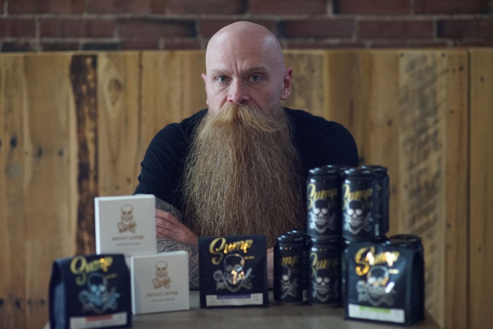 Sump Coffee Owner, Scott Carey