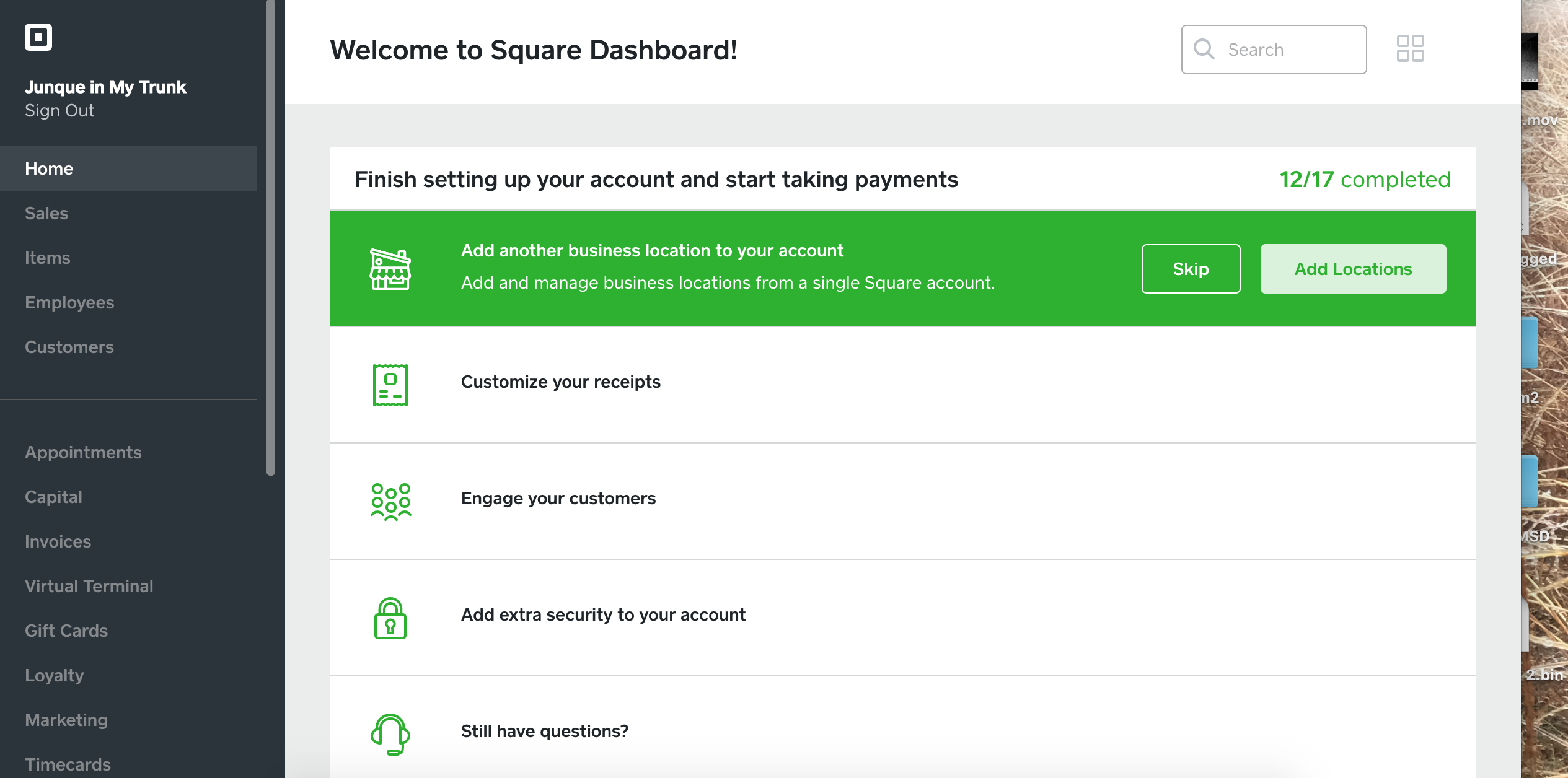 Can I Add A Link To Square For Purchases On My Fac The Seller - How to use square invoice