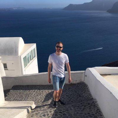Santorini vibes; summer of 2016.