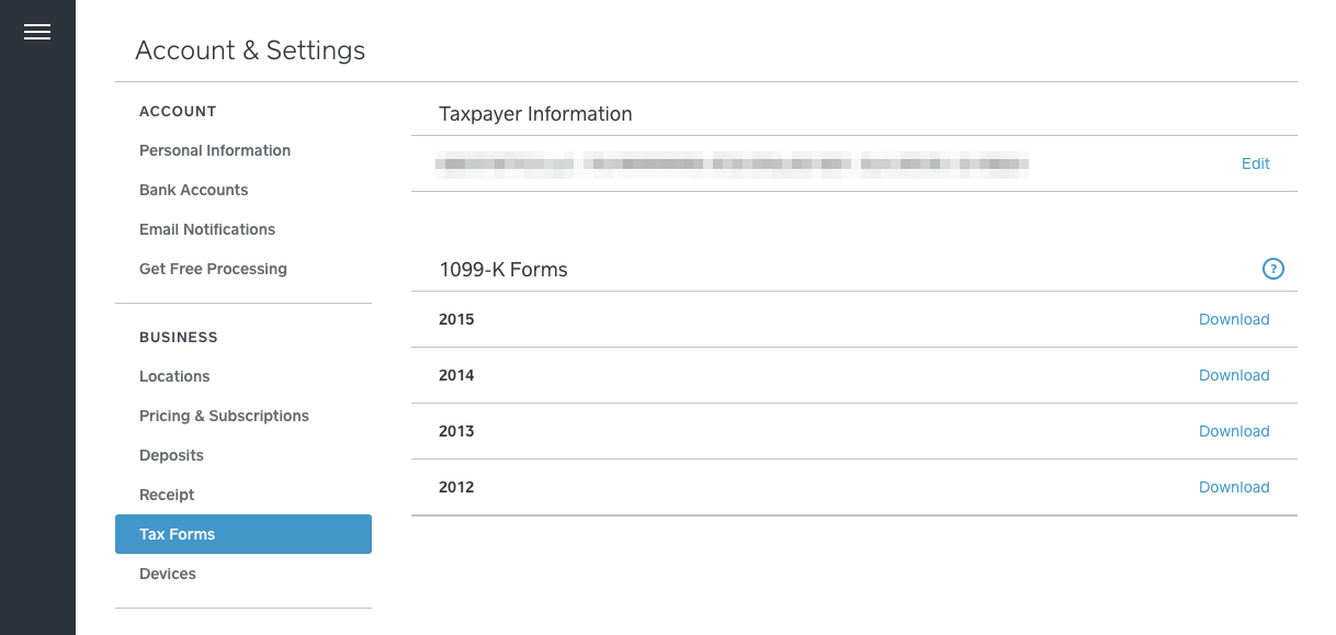 Tax Season And 1099 K Forms With Square The Seller Community
