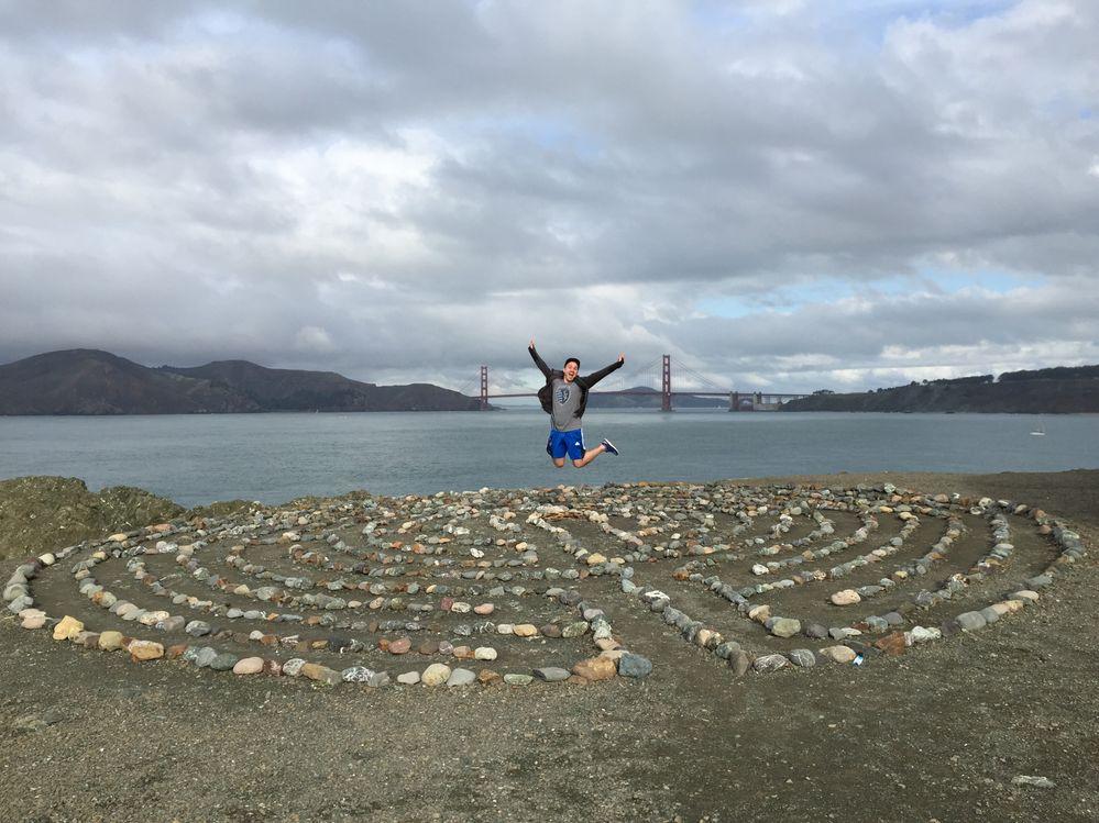 Lands End Labyrinth, San Francisco 2015
